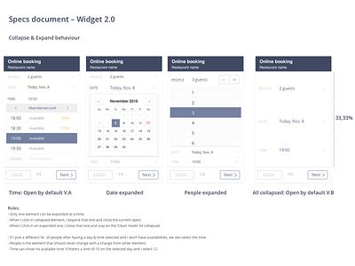 Example of a spec document  widget document specs