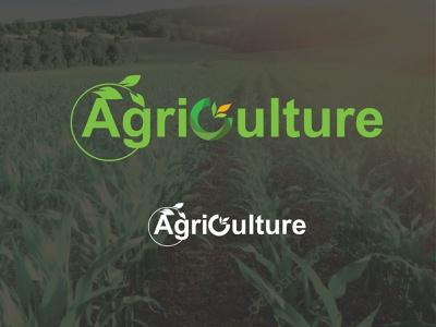 Agriculture logo texture typography illustration illustrator icon minimal flat graphic design design logo