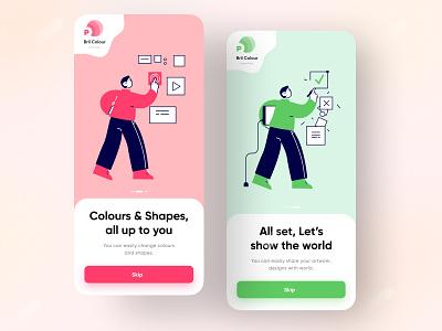 Splash Screen Design splash screen icon app 2020 design design flat minimal vector ux ui illustration splash