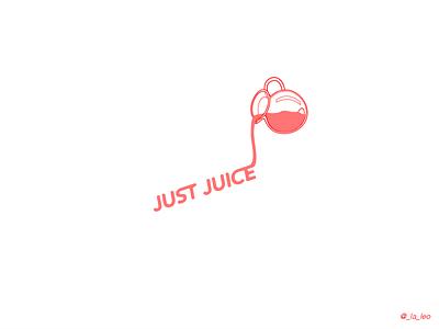 47 JUST JUICE juice justice justjuice logodesign vector logo illustration design dailylogo dailylogochallenge