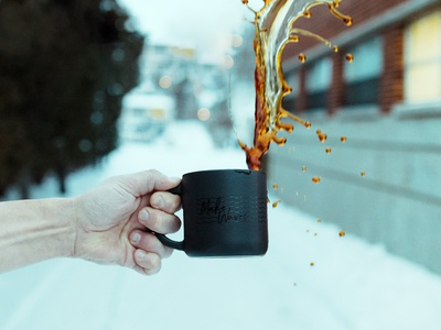 Make Waves - Coffee Mug packages black wisconsin winter thank you splash gift holiday agency waves mug coffee