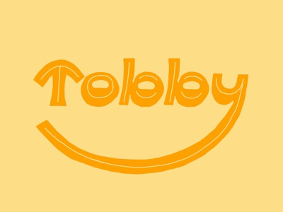 Tobby —typecooker procreate ipad inline organic happy type design lettering artist lettering elf typecooker