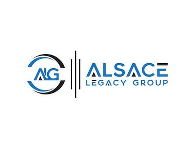 Alsace legacy group vector illustrator illustration fiverrgigs fiverr design fiverr.com ui branding design logo