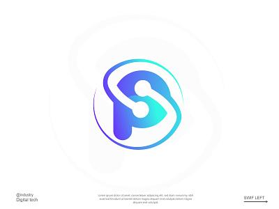 Paraon | Logo Design minimalist logo brand identity branding app icon unique creative logo software logo modern logo logo design teechnology