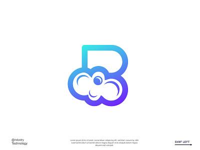 Bubble pad business logo cloud logo logo design brand identity logodesign flat minimalist logo creative logo modern logo logo design