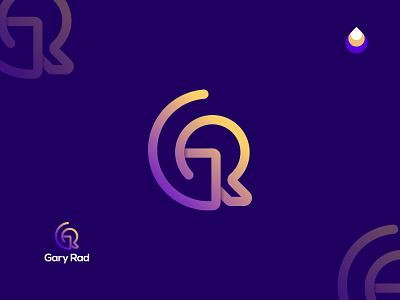 GR logo concept graphic design branding logos sybmol monogram concept for sell creative colorful wordmark letter mark gr logo design flat logo brand identity logodesign logotype modern logo minimalist logo logo design