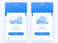 Idea#039 Bus Ticket Home Page