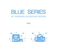 Blue series style sum