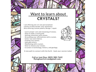 Want to learn about CRYSTALS?