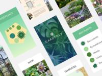Gardenly UI Moodboard   Work In Progress   Mobile First