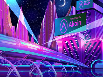Akoin city construction starts in 2021 cryptocurrency akoin