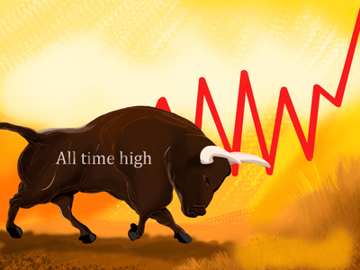 Bitcoin bull cryptocurrency bitcoin btc