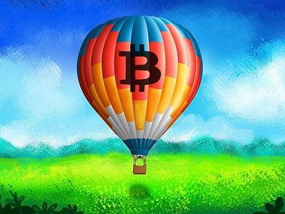 Bitcoin hot air balloon btc bitcoin cryptocurrency