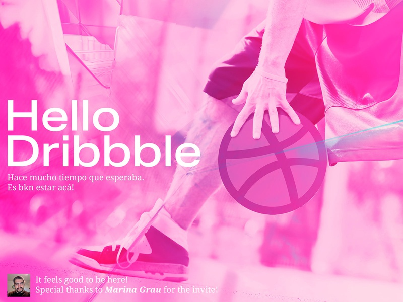 Official Hello hello dribbble