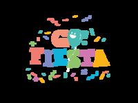 Go Fiesta (mix) vector brand design brand flat logo design illustration brand identity branding