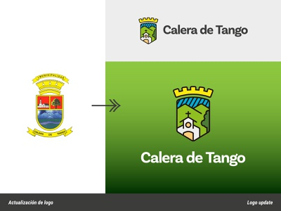 Coat of arms modernization or update rural coat of arms shield municipality illustration brand identity flat branding