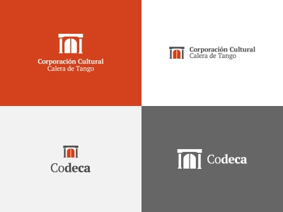 Codeca proposal chile house of culture culture brand design flat brand logo