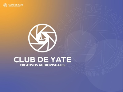 Club de Yate orange blue club boat yate design brand illustration flat brand design branding brand identity logo