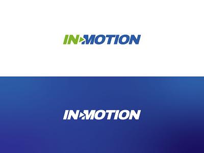 inmotion tech colors vector design brand brand design flat branding brand identity logo