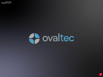 ovaltec building technology colors vector typography design brand brand design flat branding brand identity logo
