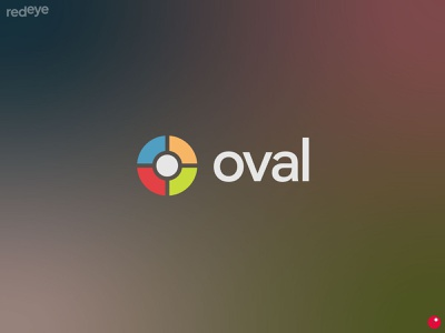 oval colors google chrome design brand flat brand design branding brand identity logo