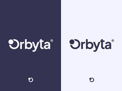 Orbyta logo concept brand circle branding flat brand identity logo
