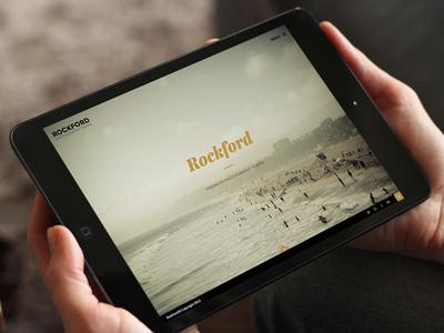 Rockford wordpress theme premium elegant photography fullscreen album themeforest