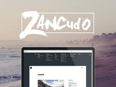 Zancudo, mighty fullscreen WordPress theme for creatives wordpress theme premium themeforest photography fullscreen parallax minimal hipster flat