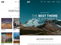 One – the creative multipurpose portfolio & shop theme