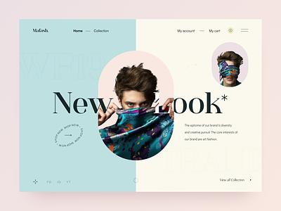 Web Header Design image shopping shop fashion orix sajon design desktop design webdesign landing page website design website web design web