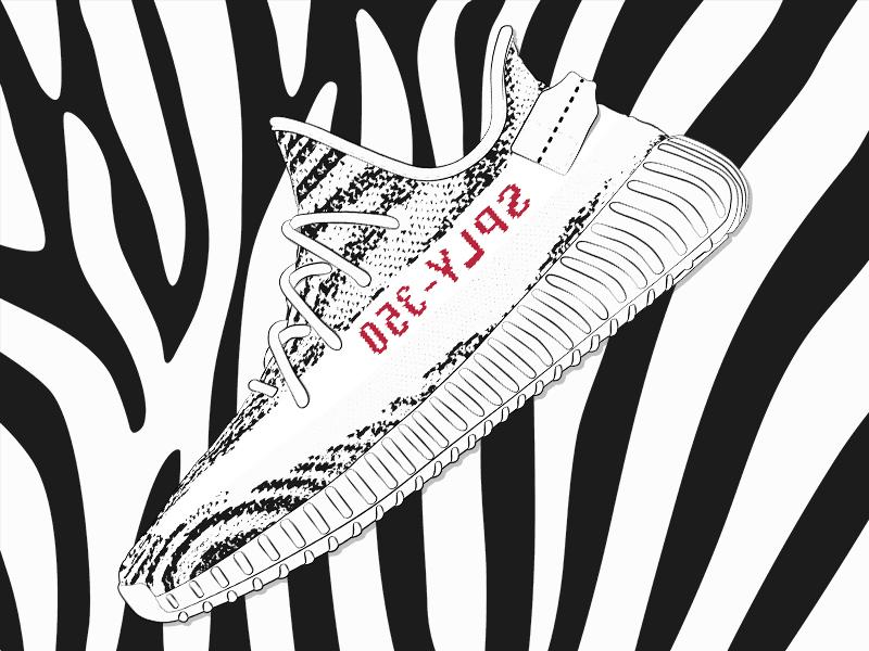 c3981234fdd Adidas Yeezy Boost 350 v2  Zebra  yeezy boost zebra sneaker yeezy adidas