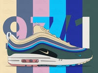 Air max 97/1 - Sean Wotherspoon