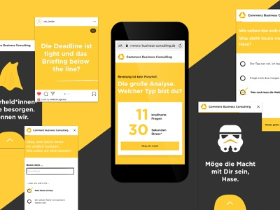 Commerz Business Consulting illustration webapp mobile ui online interface website flat webdesign design