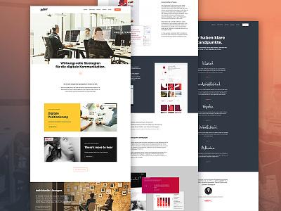 Website ReWork web responsive design images flat interface website webdesign ui design