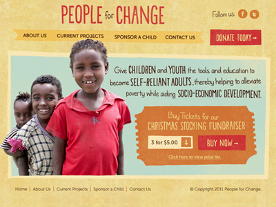 People for Change Site non-profit organization coaches loupe