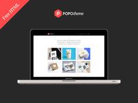 Free HTML Template - Freelancer Portfolio Template