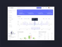 Financial dashboard UI accounts invest investment expense graphs dashboard ui money finance dashbboard