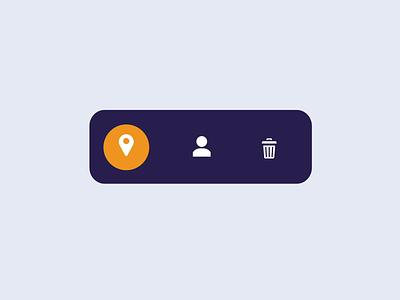 Menu bar animation for fun mobile animation after effects purple animation menu menu animation