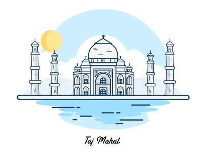 Taj Mahal: Happy republic day