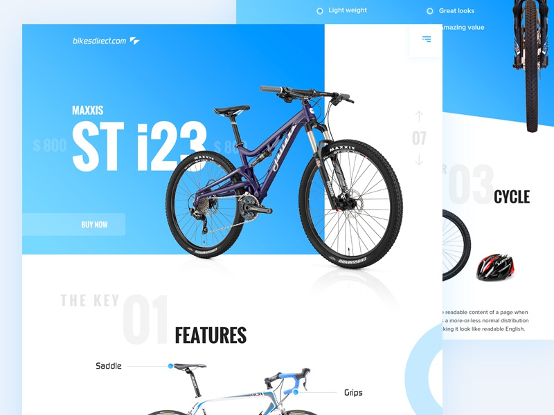 Bicycle website