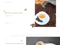 Webpage  coffee