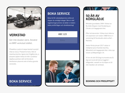 Service page ecommerce layout user interface design ui figma web