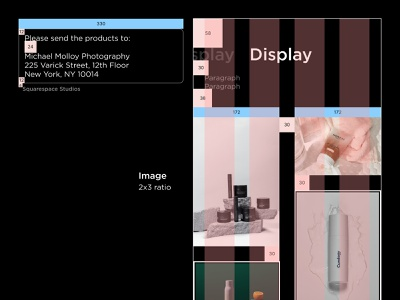 Specifications grid specification app ios layout user interface design ui figma