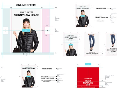 H&M Specifications ux user interface ui specification ios ecommerce design app android