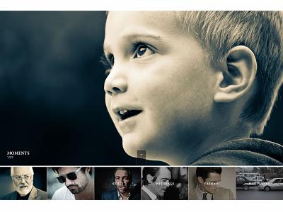 Kevin Hey portfolio photographer responsive user experience ux layout web user interface design ui
