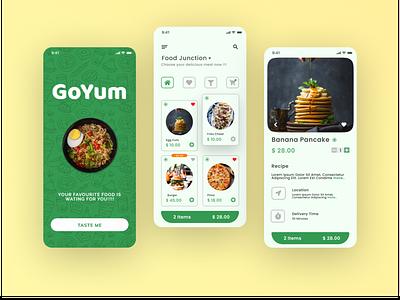 Food App UI/UX web design illustration graphic design ui app ux design