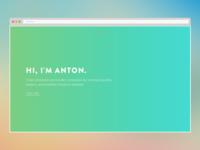 New Portfolio css3 web development web design portfolio one page clean minimalistic modern responsive html5 php