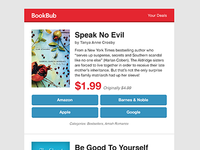 BookBub - Daily Deals Email