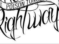 Poison Tongues - LP type