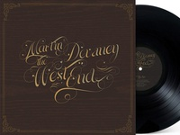 Martin Devaney West End LP cover